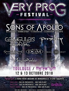 VERY PROG FEST [Toulouse - 31] > 12-10-2018
